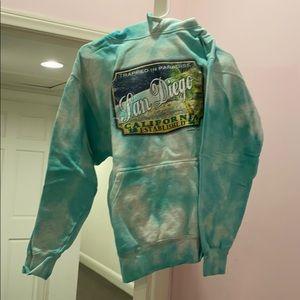San Diego Tie Dye Sweatshirt